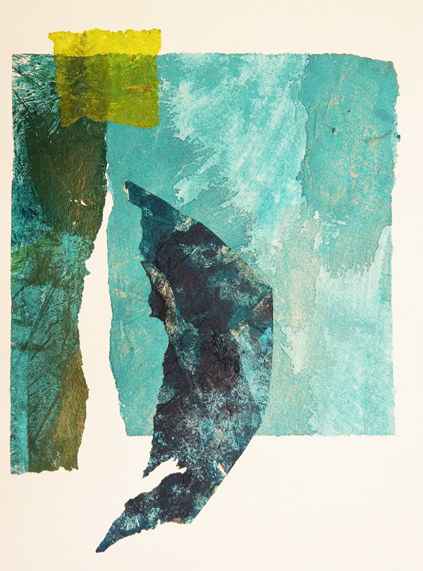 Andrea Trace Below The Waterline, Collage