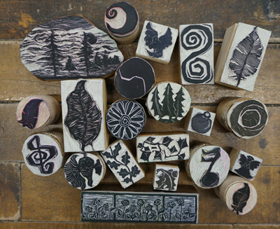 Andrea Trace Handcarved Blocks